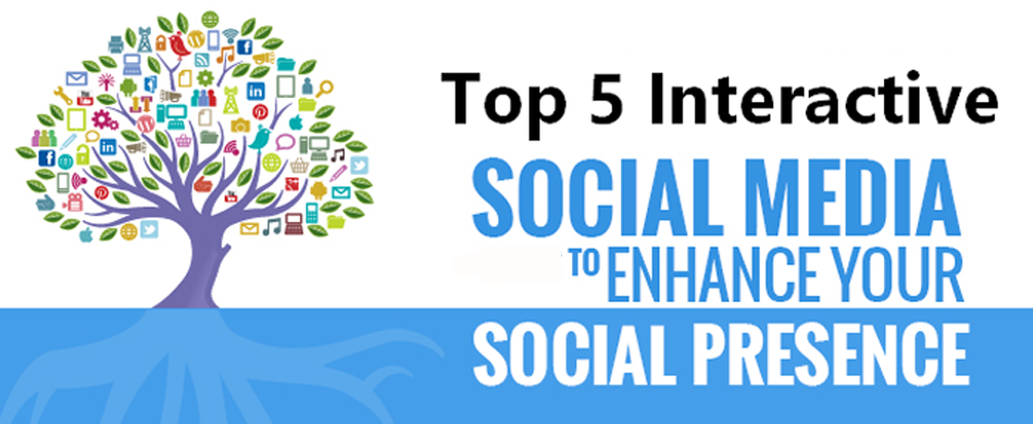 Top 5 social media