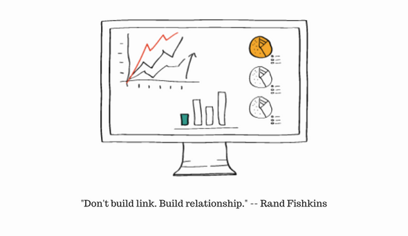 Don't build links. Build relationships